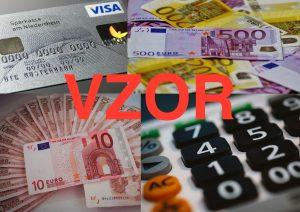 Žiadosť o legislatívny štandardný účet za 3 eurá - VZOR