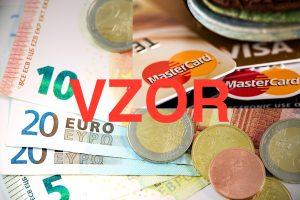 Žiadosť o základný bankový produkt - VZOR